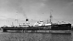 MV Glenbank built by Harland & Wolff, Govan for Bank Line & completed 06/24. 5,151GWT, 420ft length, 53.9ft beam & 26.5ft depth. Twin screw powered by 2 off 4 cylinder 4SCSA engines. 10/12/59 arrived Hong Kong for breaking up.