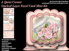 A Quiet Corner - Stacked Layer Easel Card Mini Kit