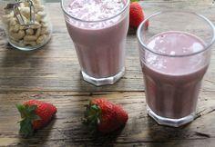 Baobab & Strawberry Cream Smoothie – Aduna