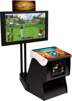 Golden Tee!-In the Man Cave