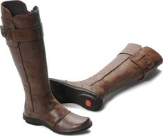 Born Womens Breena in Mocha - not sure I could bring myself to spend that much on boots, but they're so pretty.  What I imagine Katniss' boots look like.