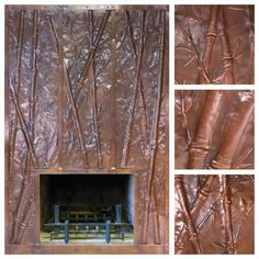 1000 Images About Copper Fireplace Surrounds On Pinterest Fireplace Surrounds Copper And