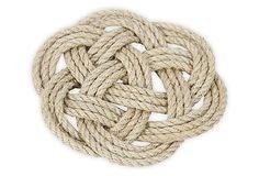 Rope trivets - S/2 Nautical Jute Rope Trivets on OneKingsLane.com