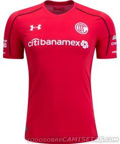 Camisetas Under Armour de Toluca FC 2017-18