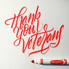 Thank You Veterans. #veteransday #crayoligraphy #calligraphy #calligraffiti #marker #crayola #lettering #handstyles #handlettering #type #typography #typewritersclique #design #thedailytype #thedesigntip #typegang #typematters by jexpo76