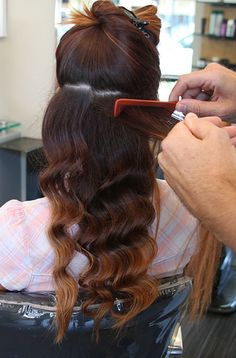 How to, vintage finger waves.