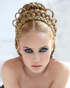 layered Hair tiara,bring it