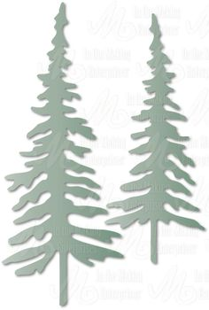 In The Making - Dee's Distinctively Die - Red Spruce 2 Christmas Svg, Christmas Decorations, Crafty Hobbies, Christmas Tree Branches, Tree Templates, Frantic Stamper, Tree Decals, Wood Burning Patterns, Paper Crafts