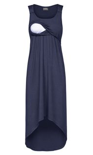 High-low nursing dress! I would have loved to of had this!