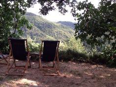 Sdraio e panorama alla Fossa www.lafossa.eu