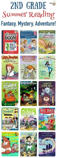 2nd Grade Summer Reading List (ages 7 - 8)