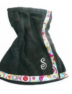 Bridesmaid gift?   Towel Wrap Monogrammed towel wrap by Baileywicks on Etsy, $29.50