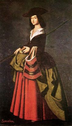 It's About Time: The Female Saints of Francisco de Zurbarán 1598–1664  Saint Marina