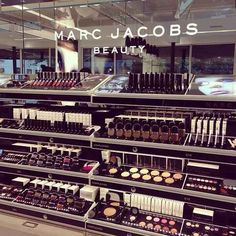 When you first step into a makeup store and absorb all of its wondrous beauty.