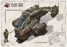 V-63 Bomber ship ext