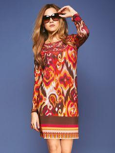 Uta Raasch - Glänzendes Jersey-Kleid