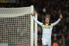 Momen cantik ketika Torres mencetak goal untuk kemenangan Chelsea