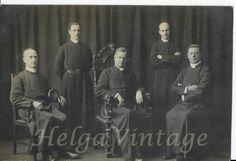 Vintage BW photo with priests from British heritage cca. Priest, 1930s, Vintage Photos, Religion, British, Antique, Best Deals, Ebay, Antiques