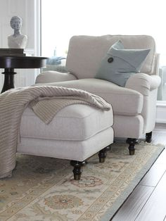 Pillow Cover Design, Pictures, Remodel, Decor and Ideas-comfy chair. Check out this website-so many great pics!