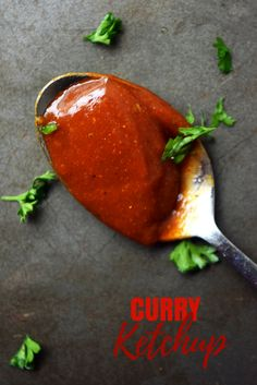Curry Ketchup Recipe - Love curry ketchup? Miss the currywurst you had when you were last in Germany? Want to make homemade currywurst or just add a little kick to the ketchup on your brats at your next BBQ? This curry ketchup recipe is incredibly easy and homemade!