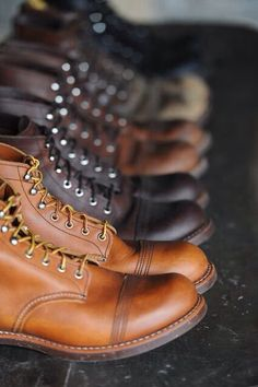 Red Wing Iron Ranger! Paradise!!! | Raddest Men's Fashion Looks On The Internet: http://www.raddestlooks.org