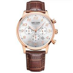 Original Luxury Men Quartz Watch Chronograph Business Watches