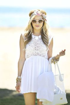 cute beach look