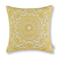 "Euphoria Home Decorative Cushion Covers Pillows Shell Cotton Linen Blend Compass Geometric Yellow Color 18"" X 18"" Euphoria http://www.amazon.com/dp/B00RWQF3XE/ref=cm_sw_r_pi_dp_rIakvb0CXW7TP"