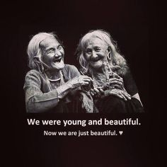 For me and my sisters when we all look that old!- For me and my sisters when we all look that old! Funny Photos Of People, Funny People, I Smile, Make Me Smile, Me Quotes, Funny Quotes, Missing Quotes, Image Citation, Ageless Beauty