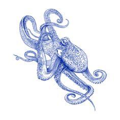 octopus frog HICustom.net