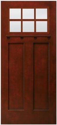 Craftsman prairie style door lose the sidelights - Jeld wen exterior doors with sidelights ...