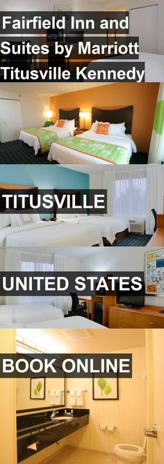 Hotel Fairfield Inn and Suites by Marriott Titusville Kennedy Space Center in Titusville, United States. For more information, photos, reviews and best prices please follow the link. #UnitedStates #Titusville #FairfieldInnandSuitesbyMarriottTitusvilleKennedySpaceCenter #hotel #travel #vacation