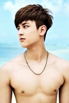 Chanwoo Ikon, Kim Hanbin, Sexy Asian Men, Sexy Men, Asian Guys, Yg Entertainment, Bobby, Asian Man Haircut, Warner Music