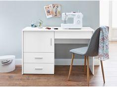 LIVARNOLIVING® Stolek na šicí stroj | LIDL-SHOP.CZ Console Table, Retro Design, Modern Design, Lidl Shop, Office Desk, Corner Desk, Furniture, Home Decor, Sewing