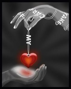 DON'T JUST GIVE YOUR HEART AWAY TO ANYONE !!!! GIVE IT TO JESUS FIRST AND THE REST WILL FOLLOW !!!!