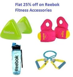 Fitness Accessories Flat 25%OFF on Reebok Fitness Accessories Sports365.in is top brand in sports player products in India. sports365 is top brand in the field of games and sports. You can get any sports related products from here. This time sports365 offers flat 25% off on Reebok fitness accessories. Here you can get Reebok handweight, Reebok studio reaching ball, … Continue reading Flat 25%OFF on Reebok Fitness Accessories