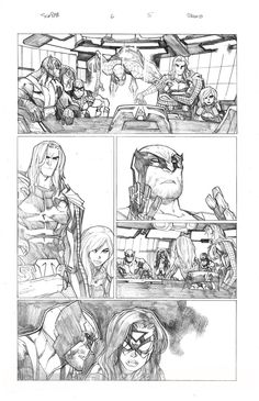Humberto Ramos Pencils | Preview of Humberto Ramos' pencils for Superior Spider-Man #6.As you ...