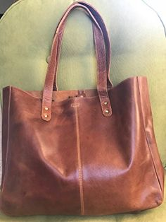 11e952f6b4  74.99 - KomalC Genuine Soft Chicago Buff Leather Tote Bag Elegant Shopper  Shoulder BagSALE Key Wallet