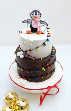 Christmas cake - Cake by SWEET architect