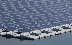 Saitama, central de energia solar flutuante de 7,5 MW (megawatts) inicia operações