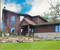 The Lodge Lodges, Garage Doors, Cabin, House Styles, Illinois, Outdoor Decor, Heaven, Home Decor, Cabins