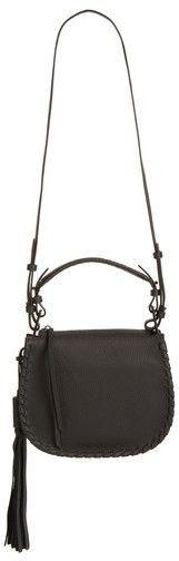 AllSaints Mori Leather Crossbody Bag - Black