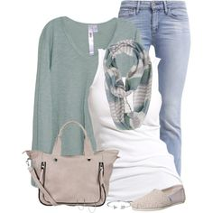 Scarf for Spring by immacherry on Polyvore