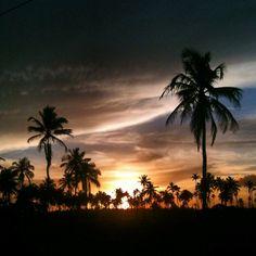 Muro Alto Beach (Sunset), Pernambuco. Brazil. - Photo by Sergio Dourado.
