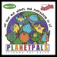 Sing a song for Earthday! Great Green Gift Idea! Teach kids to be a Planetpal. Planetpals Music CD #teachers #moms