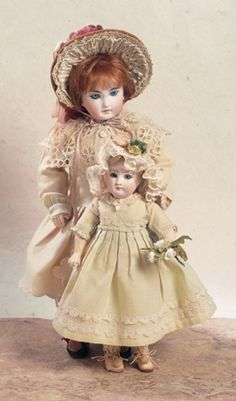 The Happy Life of a Collector: 190 Sonneberg Bisque Child Doll in Original Costume