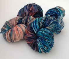 Dye tutorial on making speckled yarn.