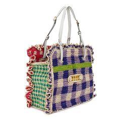Knit Fashion, Fashion Bags, Love Crochet, Knit Crochet, Crochet Purses, Cute Bags, Knitted Bags, Filet Crochet, Handmade Bags