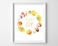 It's Fall, y'all! Well, not technically, but school is in session and the weather's turningcooler, so it's close enough for me. I fell in love with these sweet, waterc…