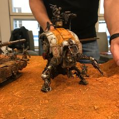 This weekend a hearty bunch of hobbyists met up in Helsinki to take part in Tor Megiddo - a completely insane multiplayer Inquisimunda g. Warhammer 40k Art, Warhammer Models, Warhammer 40k Miniatures, Imperial Knight, Sci Fi Models, Star Wars Action Figures, Gundam Model, Space Marine, Painting Tips